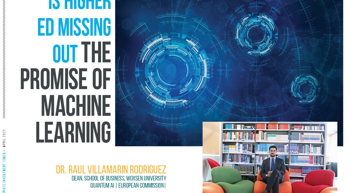 Is Higher Ed Missing Out the Promise of Machine Learning