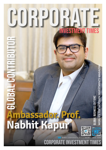 Corporate Investment Times - Global Contributor Nabhit Kapoor