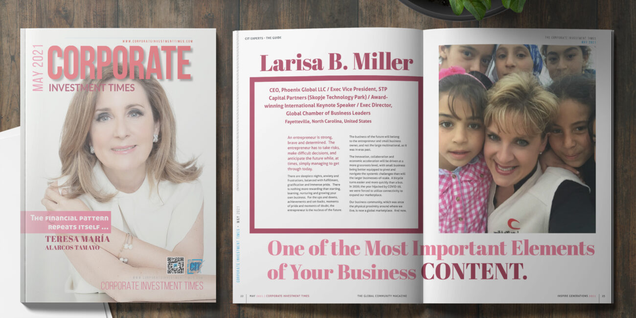 One of the Most Important Elements of Your Business CONTENT - Larisa B. Miller
